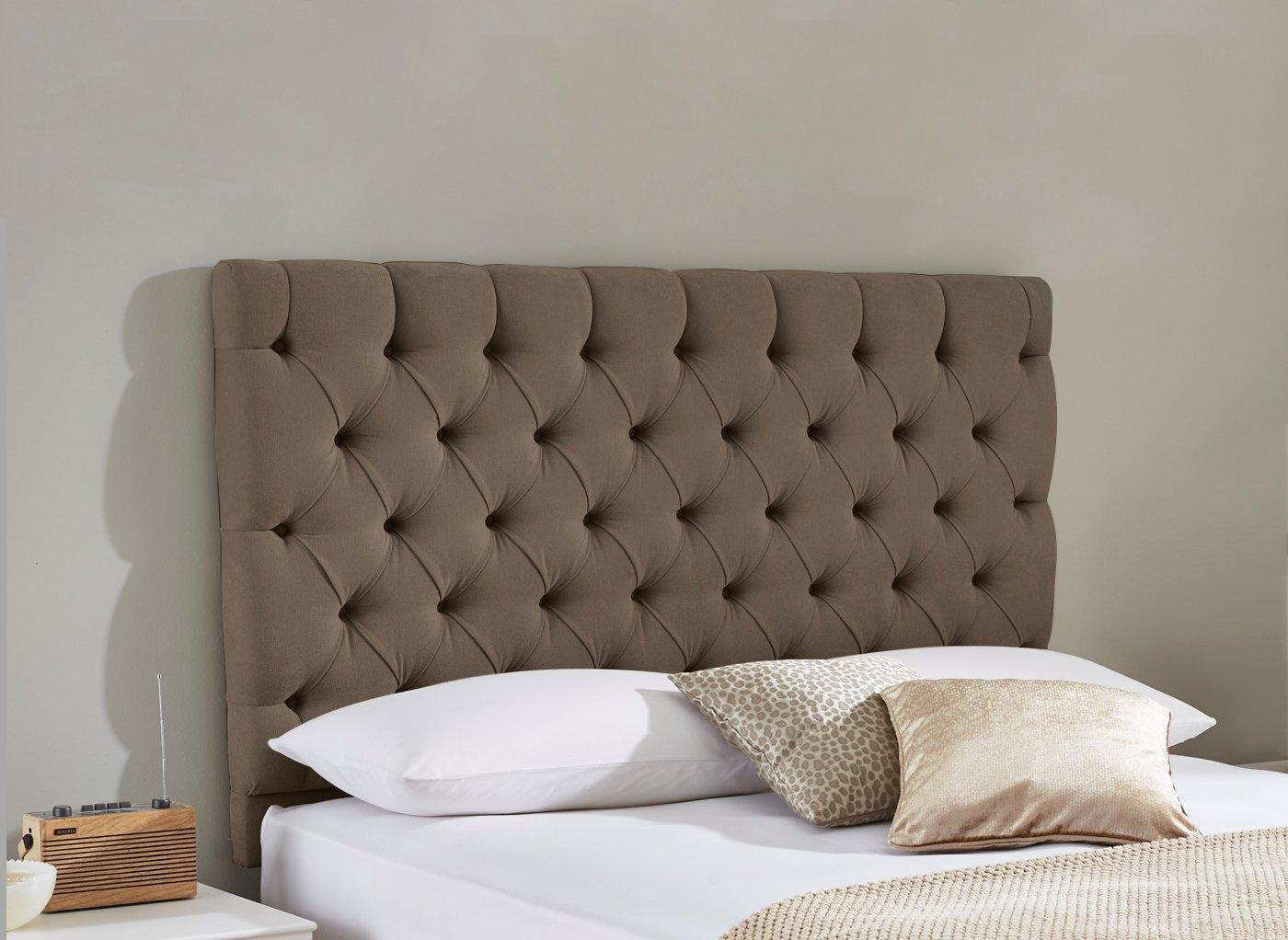 Harrogate Headboard 4'6 Double BROWN