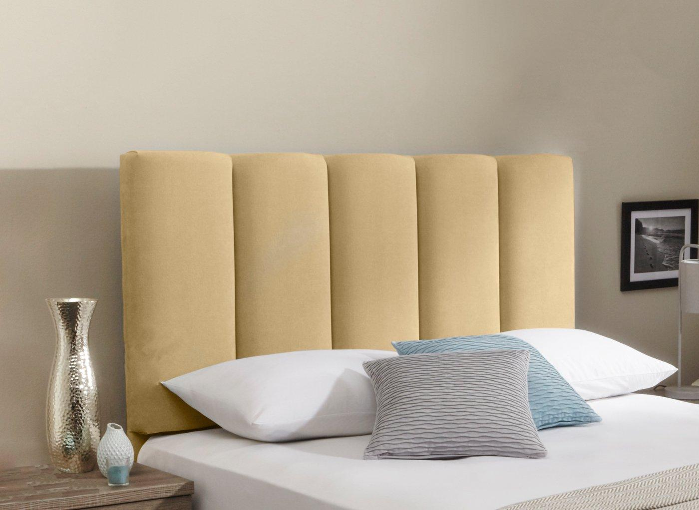 Gransmore Headboard 6'0 Super king CREAM