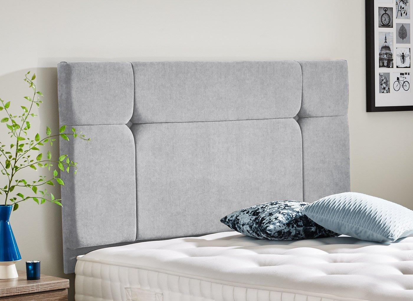 Hebden Headboard 3'0 Single GREY