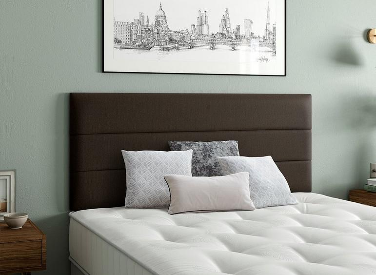 Stamford Headboard 2'6 Small single BROWN