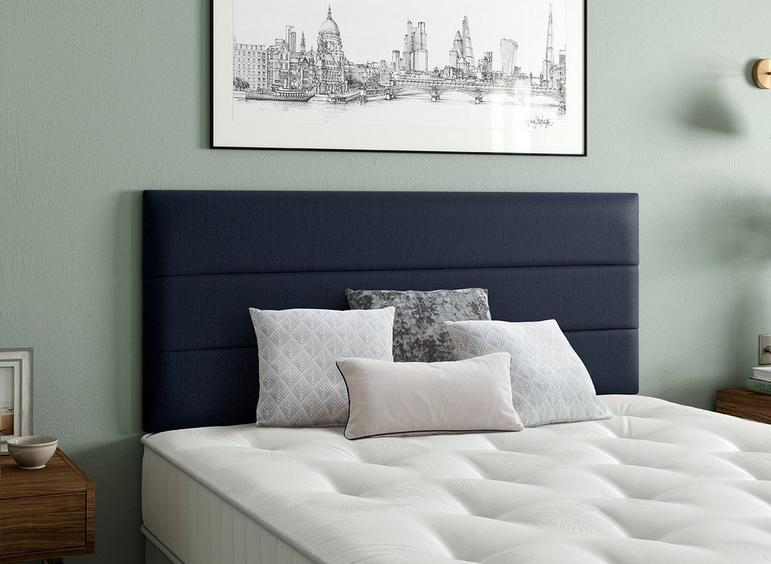 Stamford Headboard 6'0 Super king BLUE