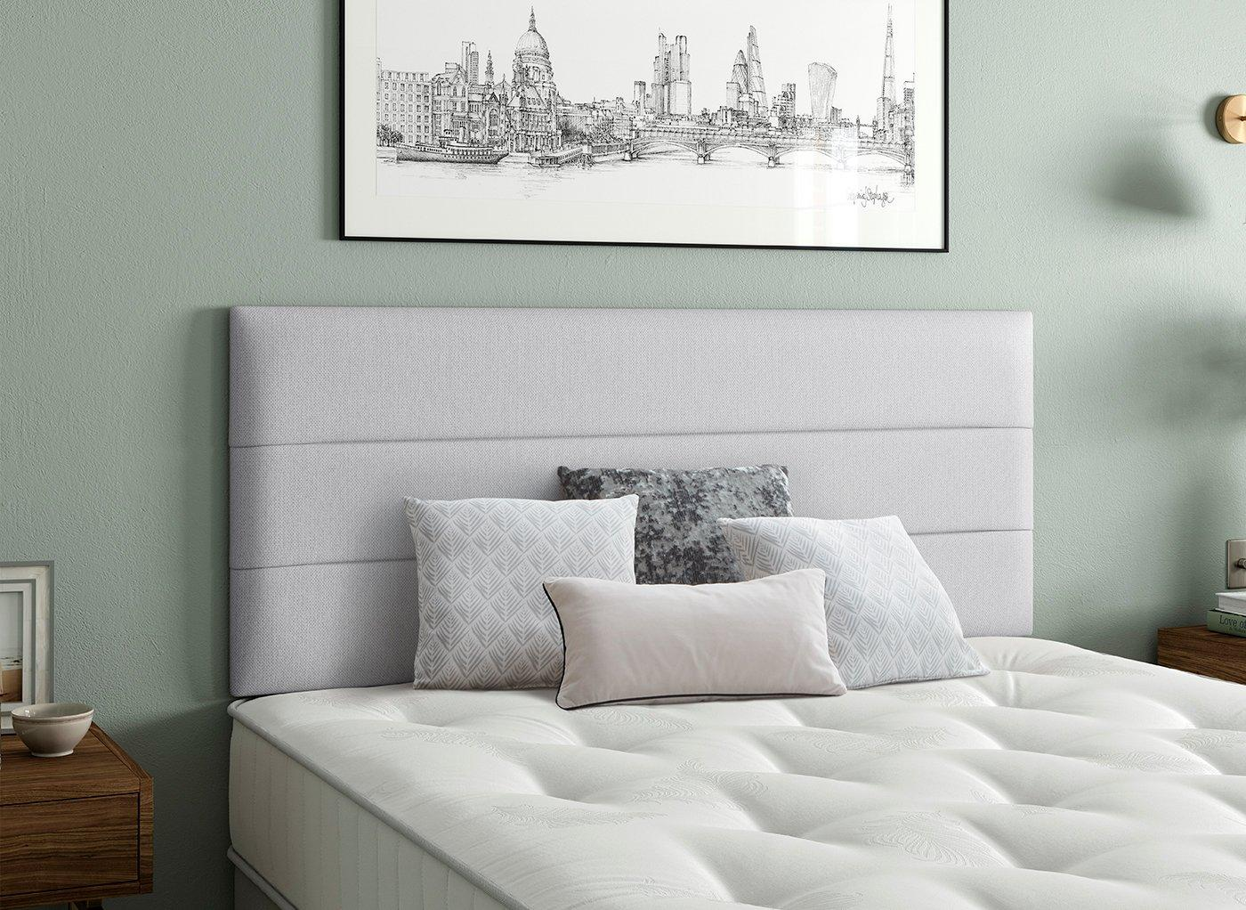 Stamford Headboard 6'0 Super king SILVER