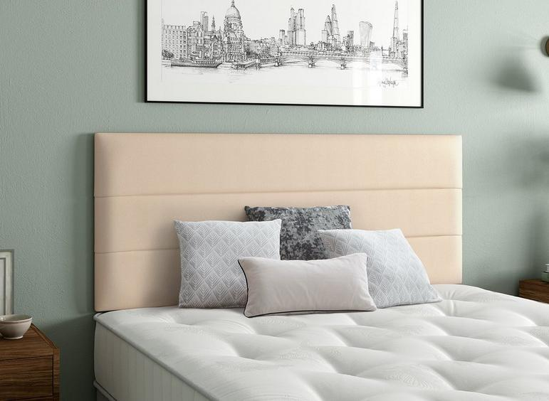 Stamford Headboard 4'6 Double CREAM