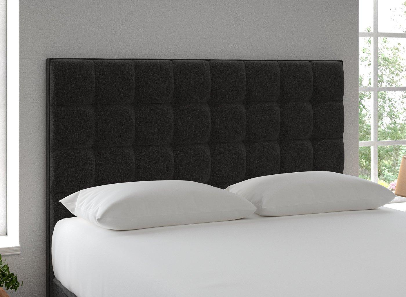 Lever Headboard 4'6 Double GREY