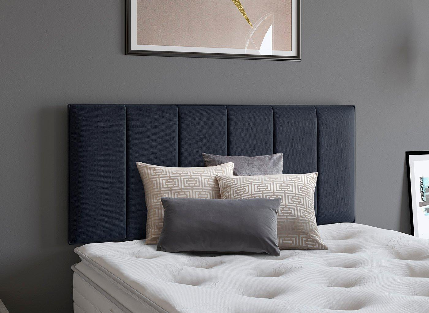 Columbia Headboard 3'0 Single BLUE