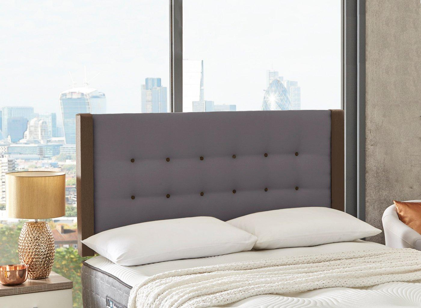 Garland Headboard 4'6 Double GREY