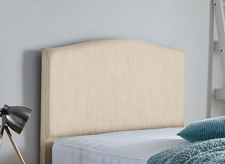 Tramore Adjustable Headboard 4'6 Double BEIGE