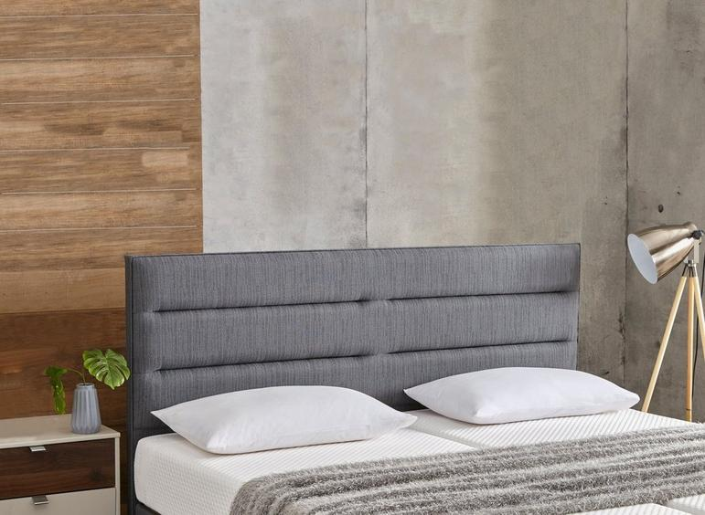 Roswell Adjustable Headboard 4'6 Double GREY