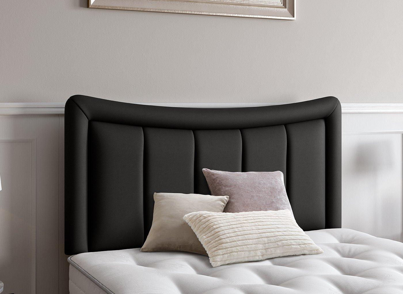 Alabama Headboard 3'0 Single BLACK