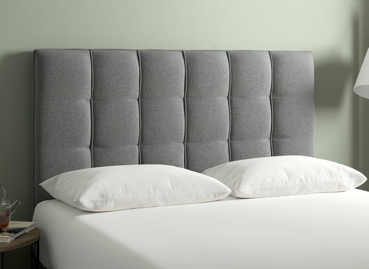 Iowa Headboard 4'6 Double GREY