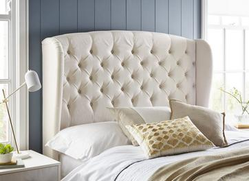 Canberra Winged Headboard