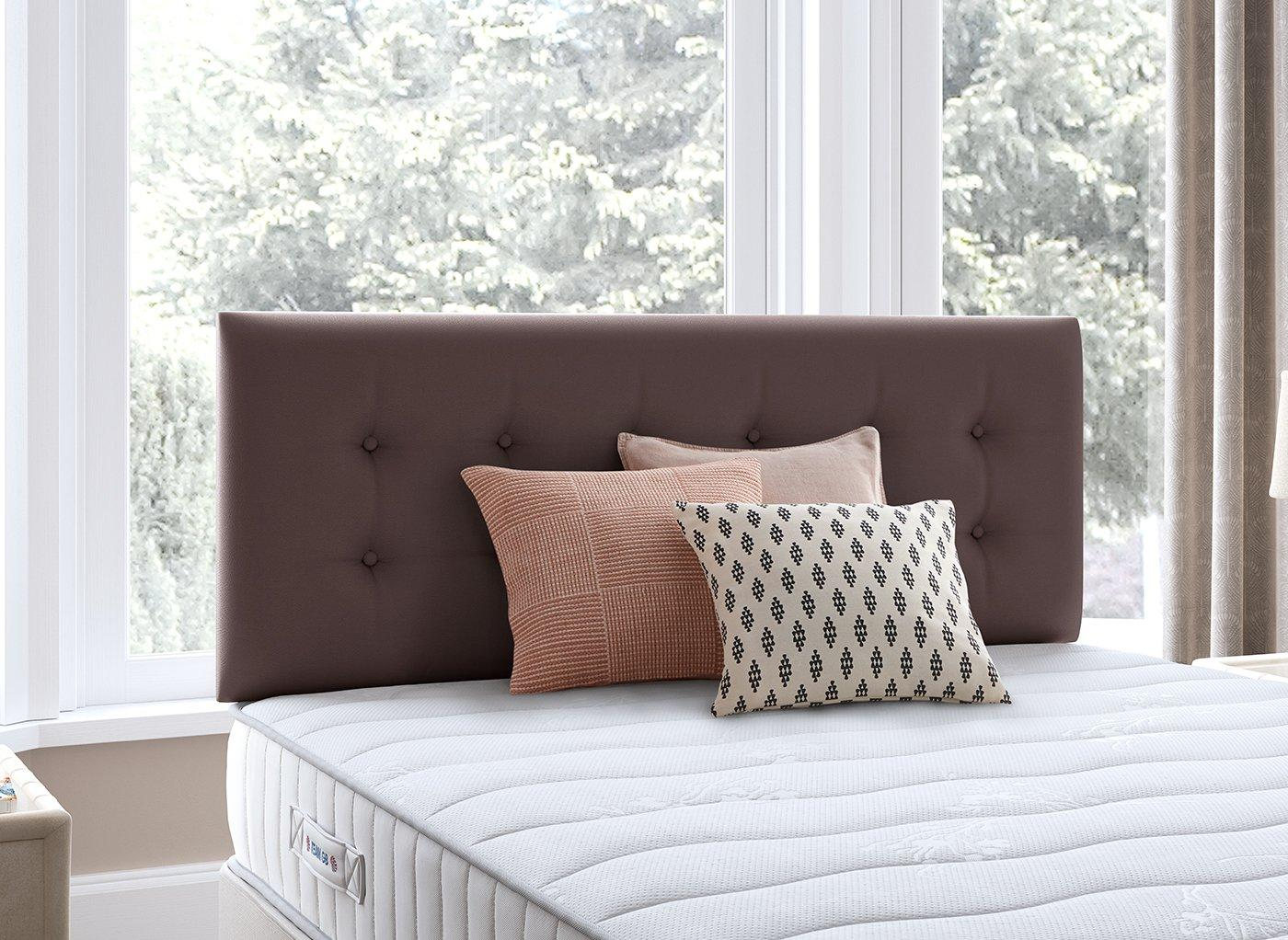 Fairfield Headboard 3'0 Single BROWN