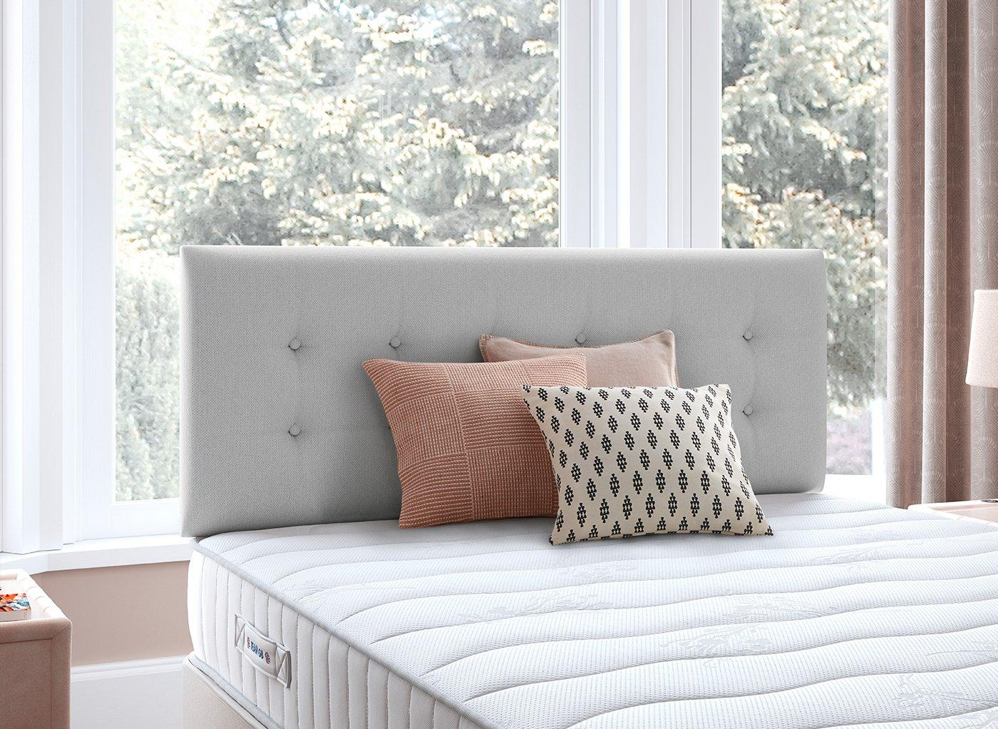 Fairfield Headboard 3'0 Single SILVER
