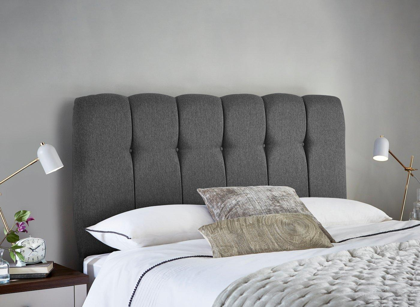 Queensland Headboard 3'0 Single GREY