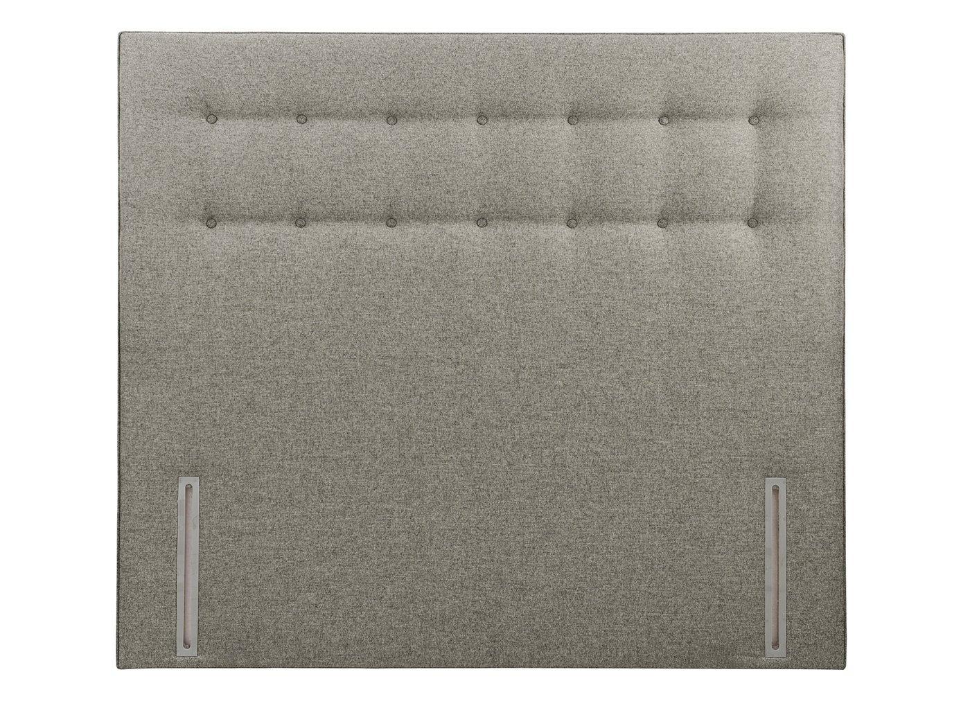 Silentnight Marigold SK H/B Marl Grey (Enhanced Fabric) 6'0 Super king