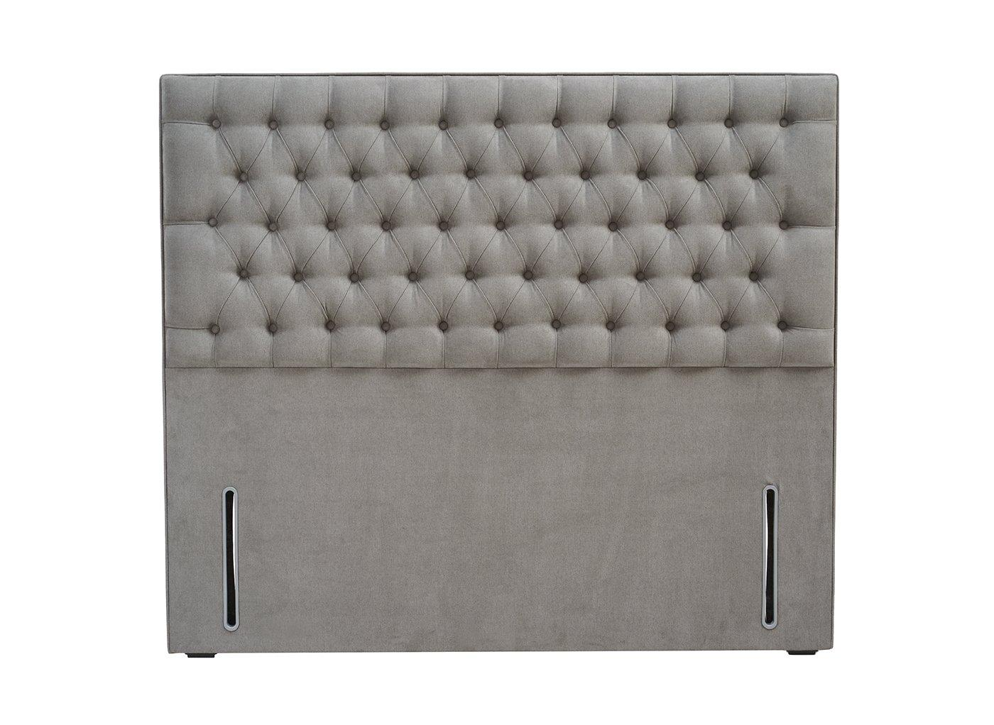 Eleanor Headboard 4'6 Double GREY