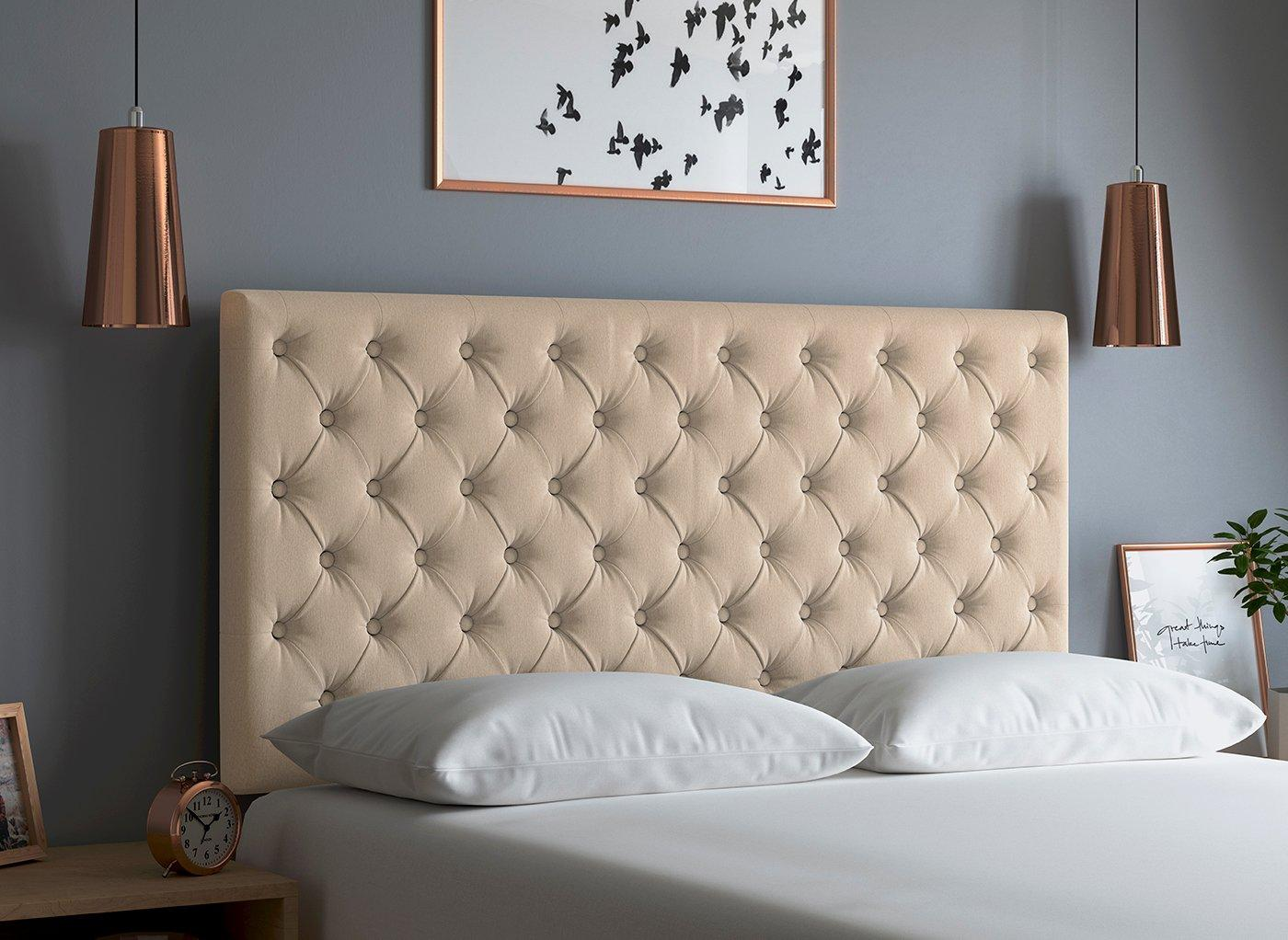 Ripley Headboard 5'0 King OATMEAL