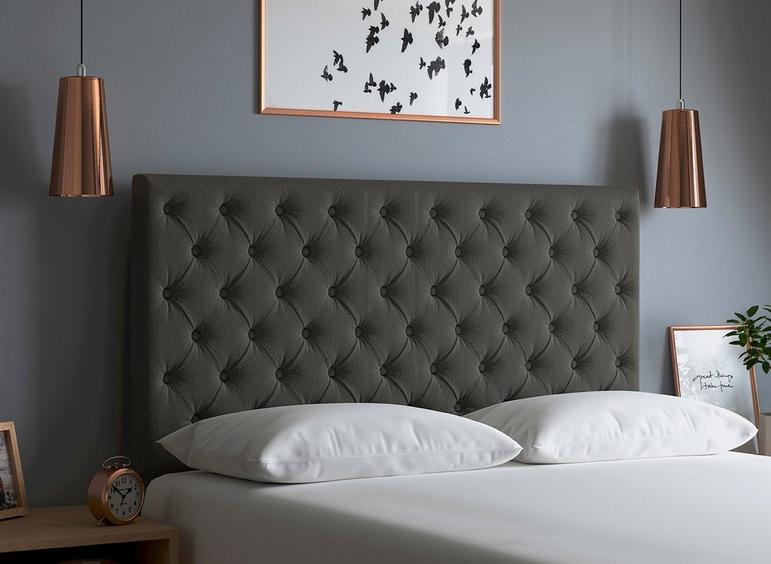 Ripley Headboard 6'0 Super king DARK_GREY