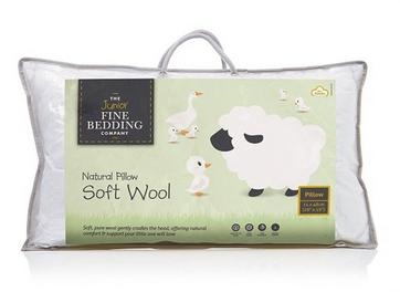 Junior Fine Bedding Soft Wool Pillow
