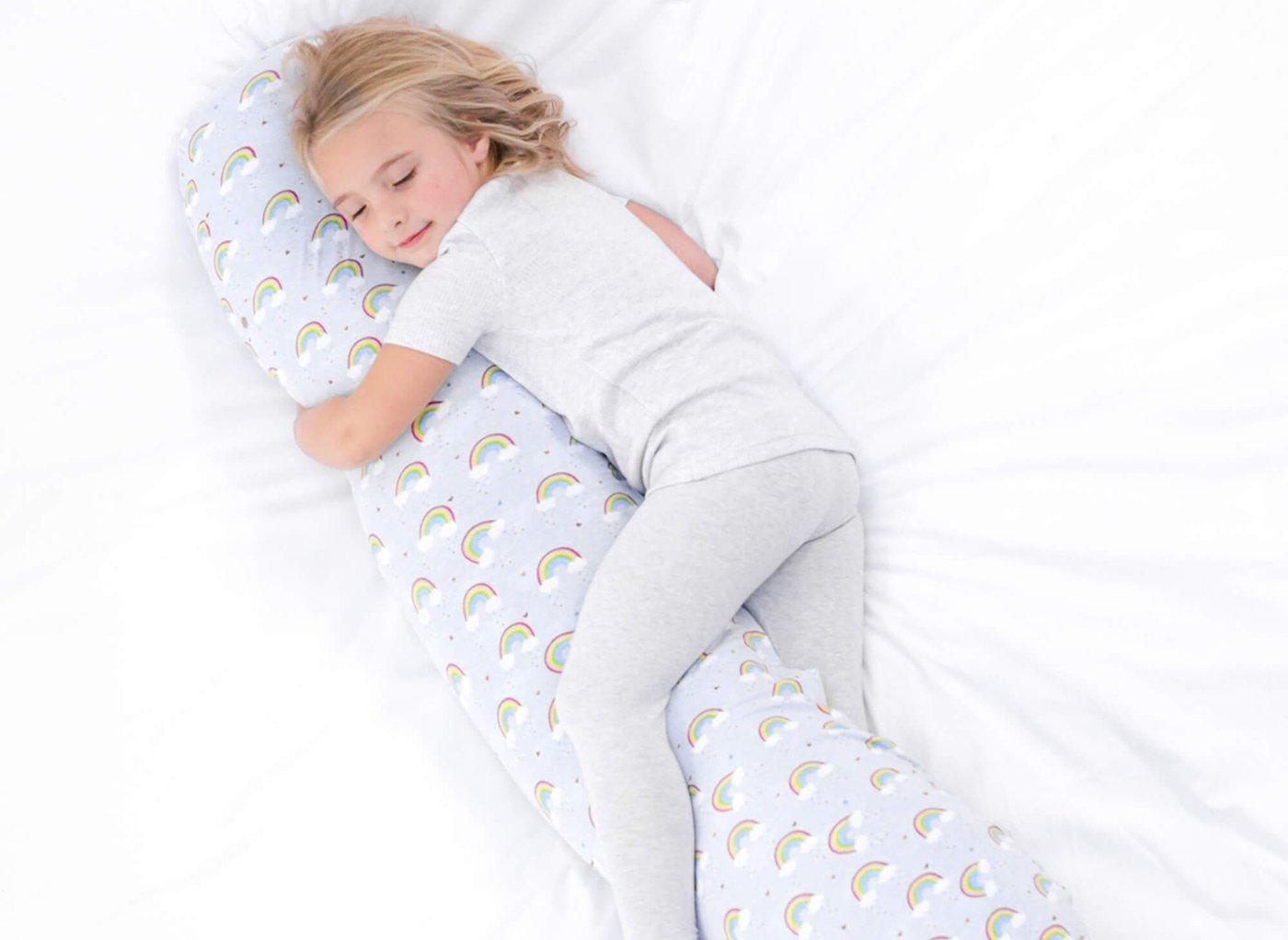 Kally Kids Pillow (Kids) - Over the Rainbow WHITE