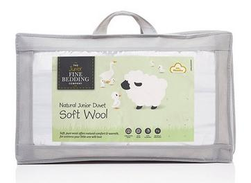 Junior Fine Bedding Soft Wool Duvet