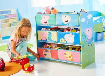 Peppa Pig Storage Unit
