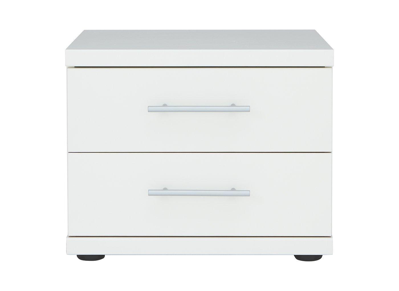 983478517ad Samara 2 Drawer Bedside Chest - White