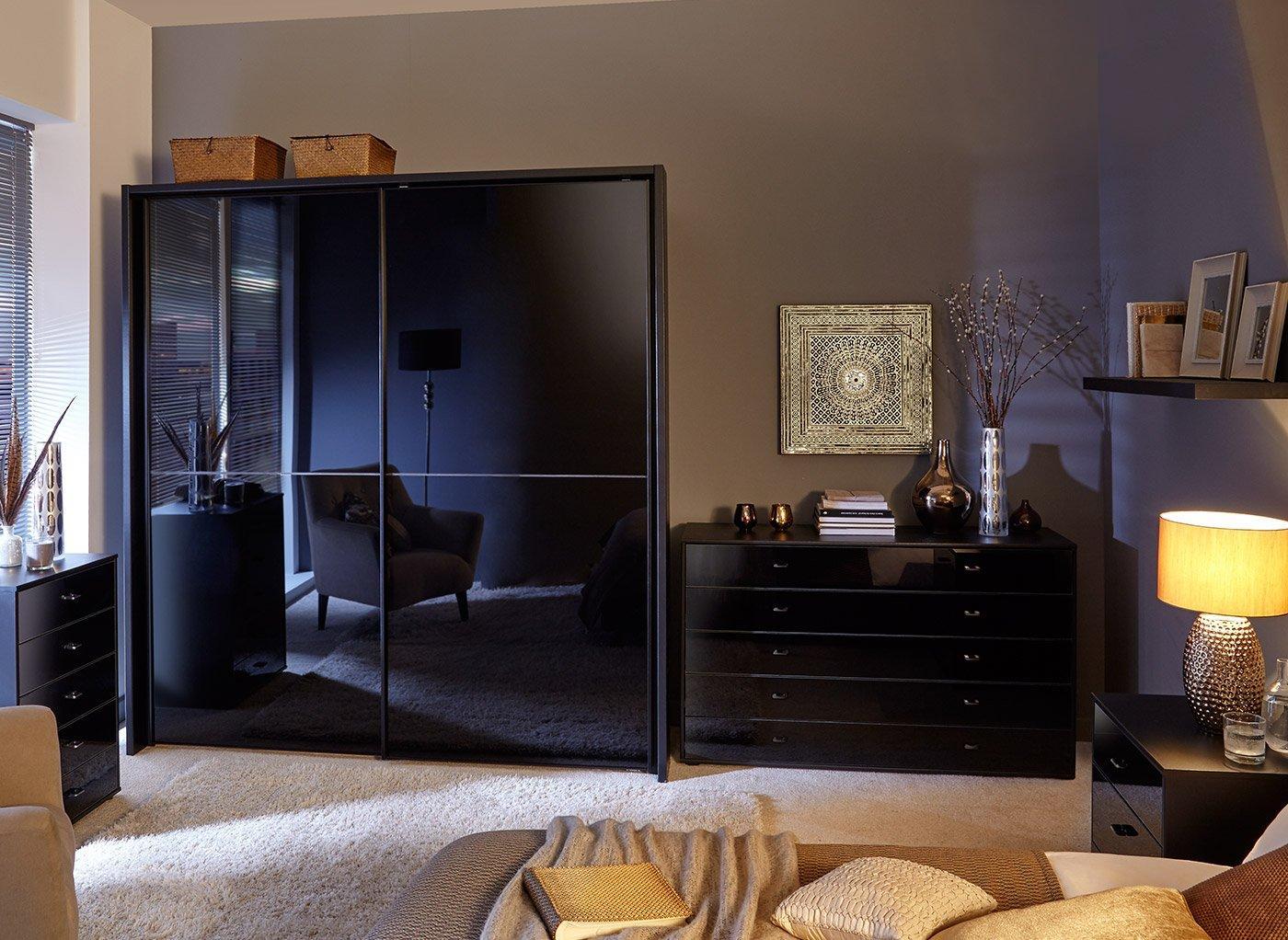 Beau Trinidad Black Roomset