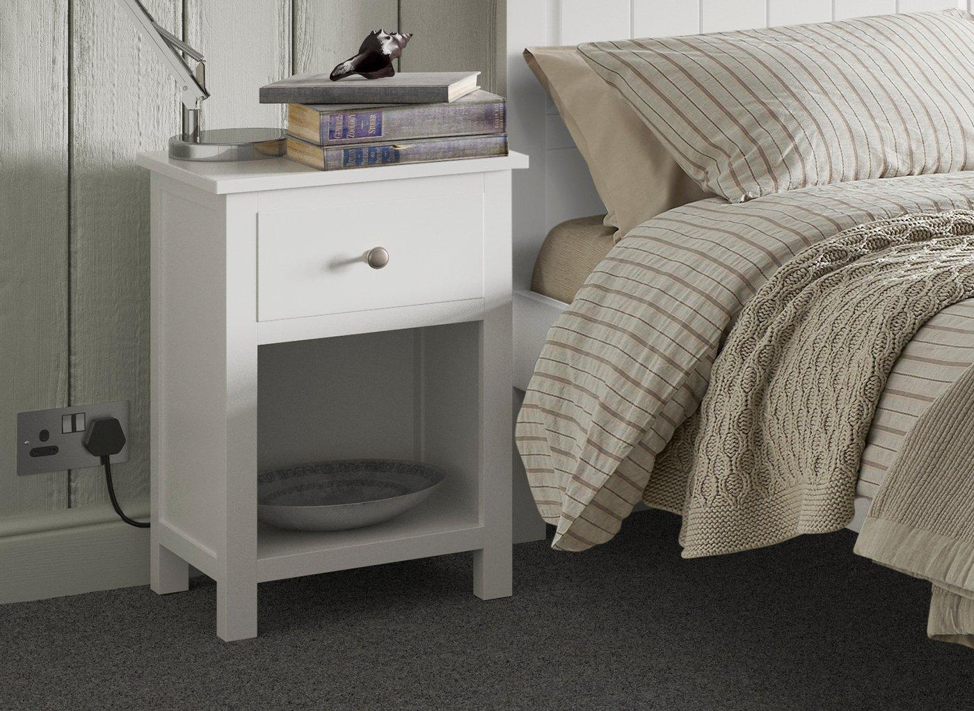 Woodbridge Bedside Table (£99)
