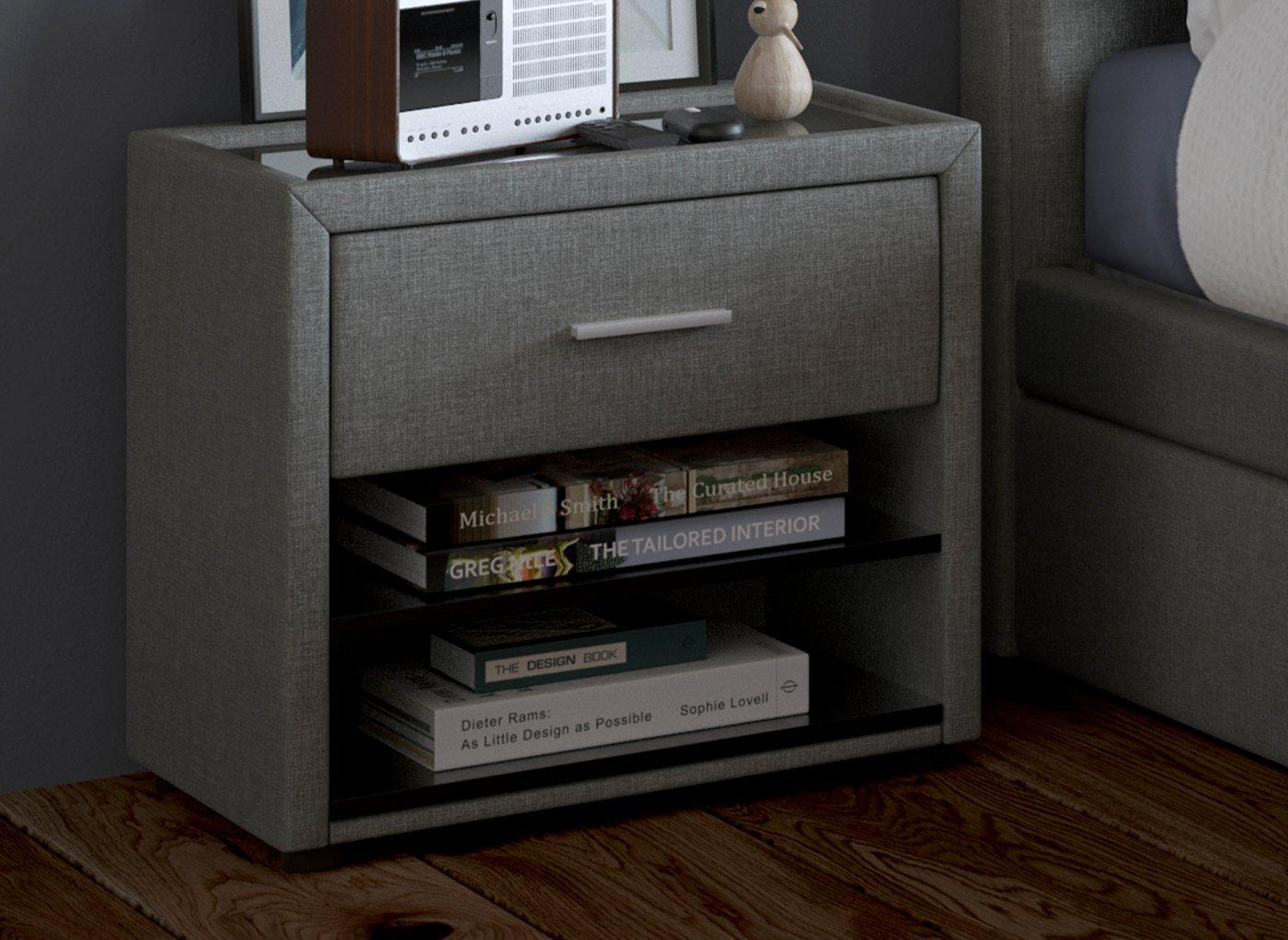 Seoul / William Bedside Chest (£129)