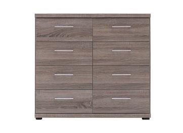 Melbourne 8 Drawer Chest - Oak