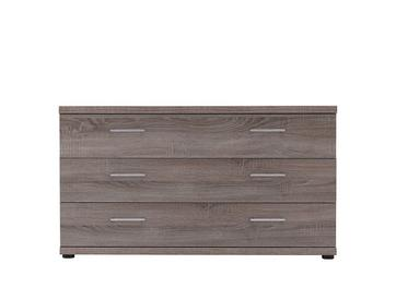 Melbourne 3 Drawer Wide Chest - Oak