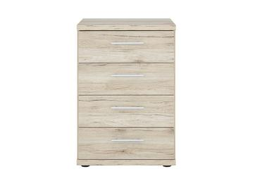 Samara 4 Drawer Narrow Chest - Oak