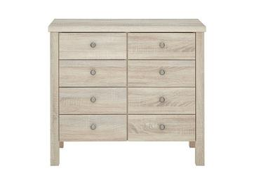 Sloane 8 Drawer Chest - Rustic Oak