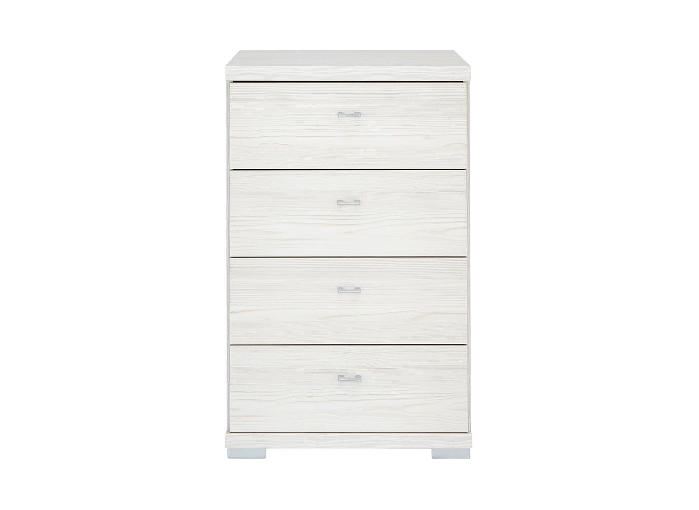 Fiji 4 Drawer Narrow Chest Polar CREAM