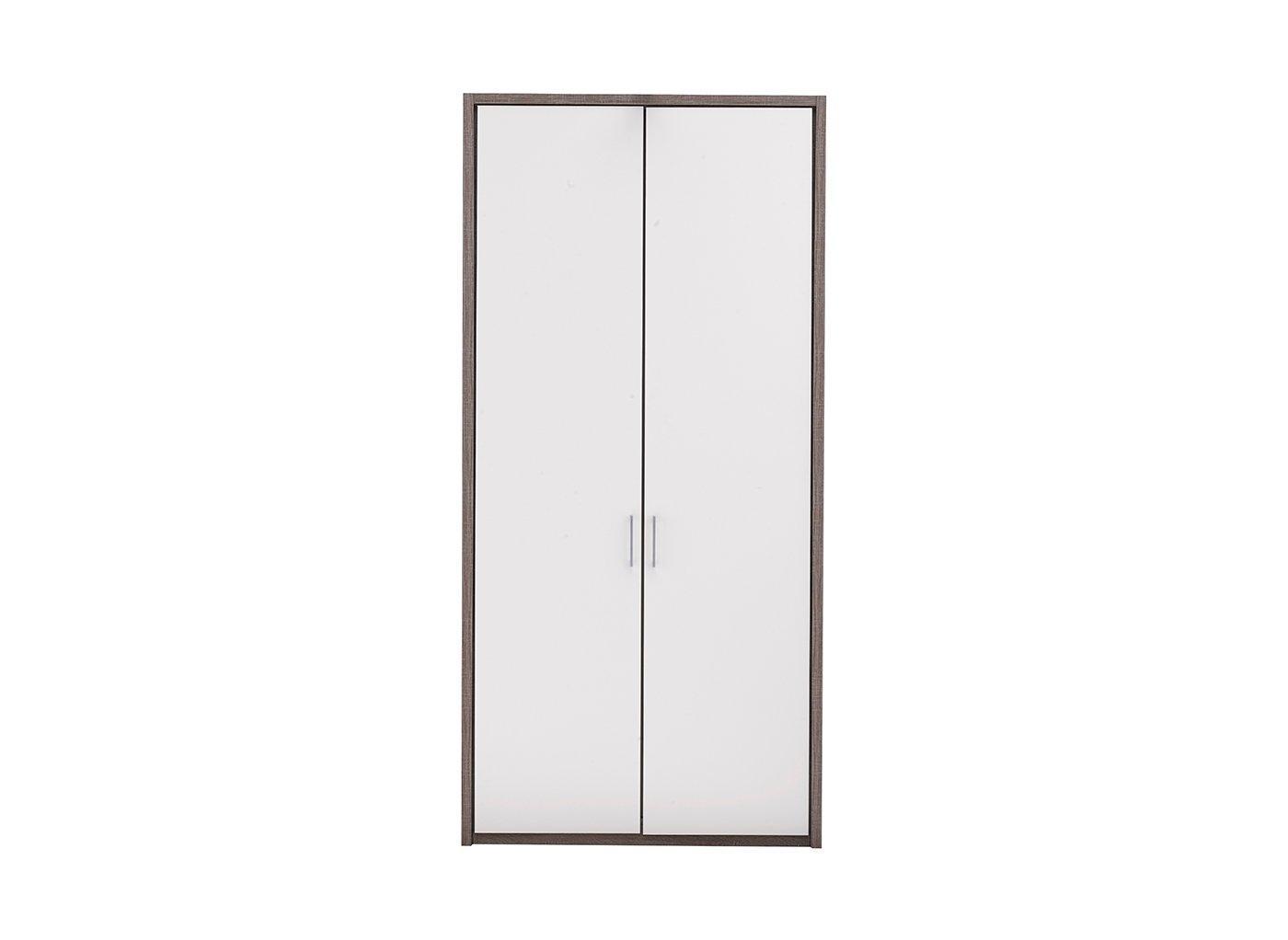melbourne-2-door-hinged-wardrobe---oak---white