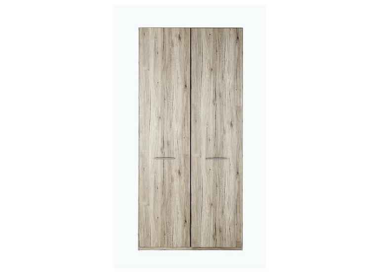 Samara 2 Door Wardrobe - Oak BROWN