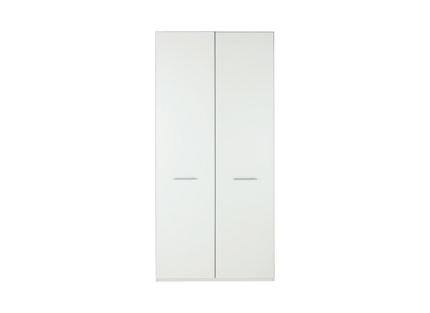 Samara 2 Door Wardrobe - White
