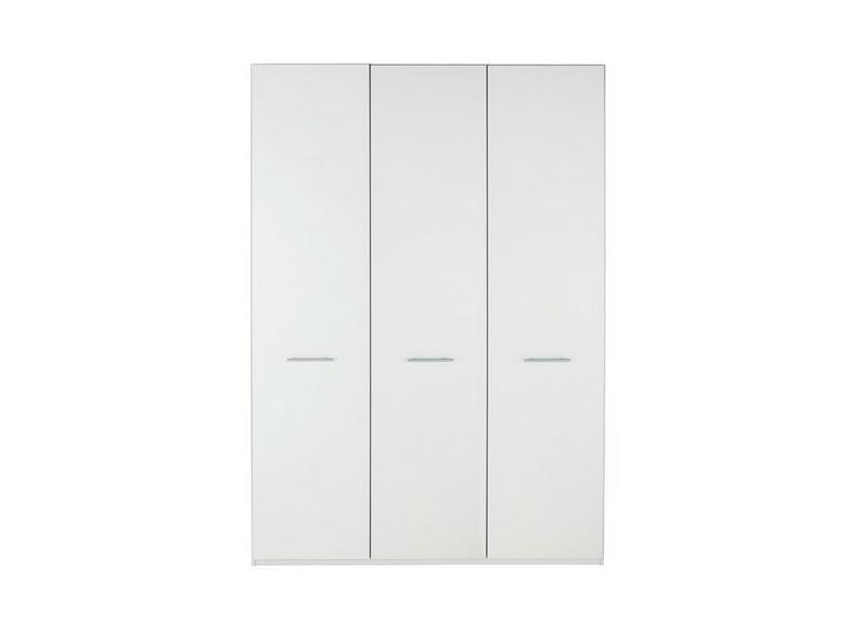 Samara 3 Door Wardrobe - White