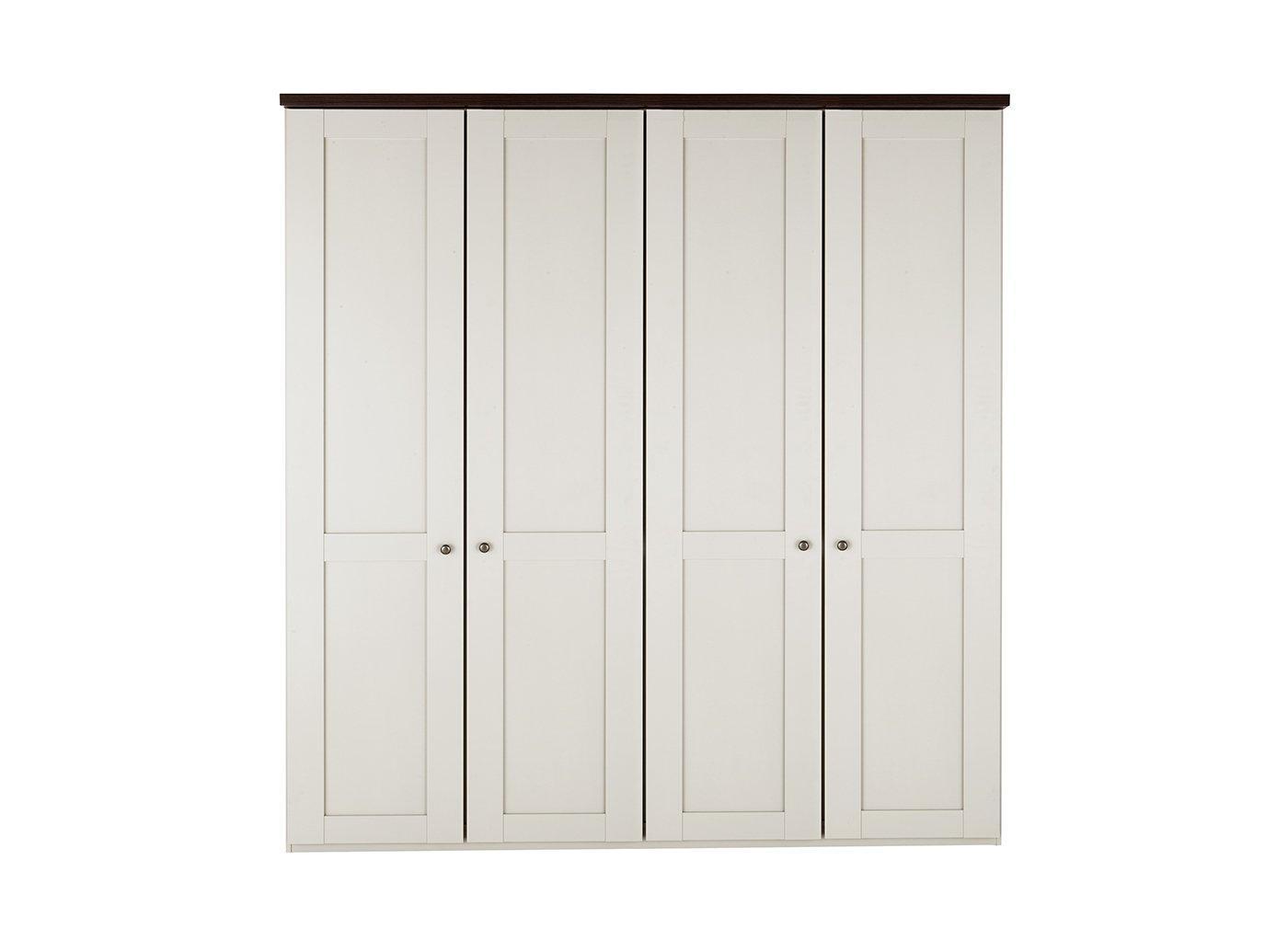 sloane-4-door-wardrobe---champagne-and-dark-wood