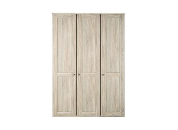 Sloane 3 Door Wardrobe - Rustic Oak