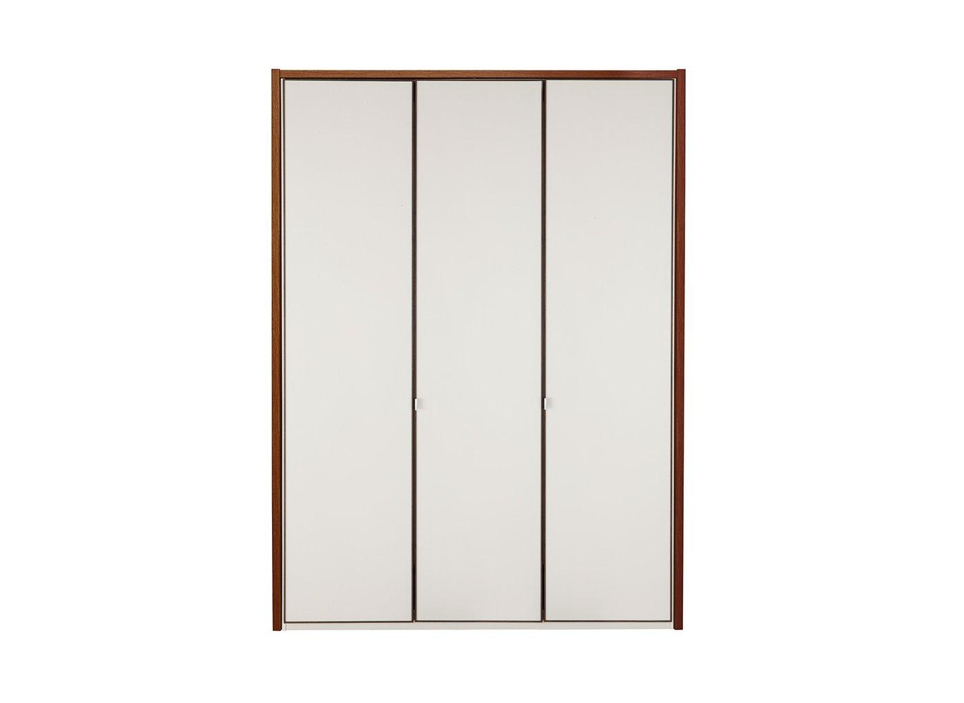 Cali 3 Door Wardrobe Champagne & Wood (£749)