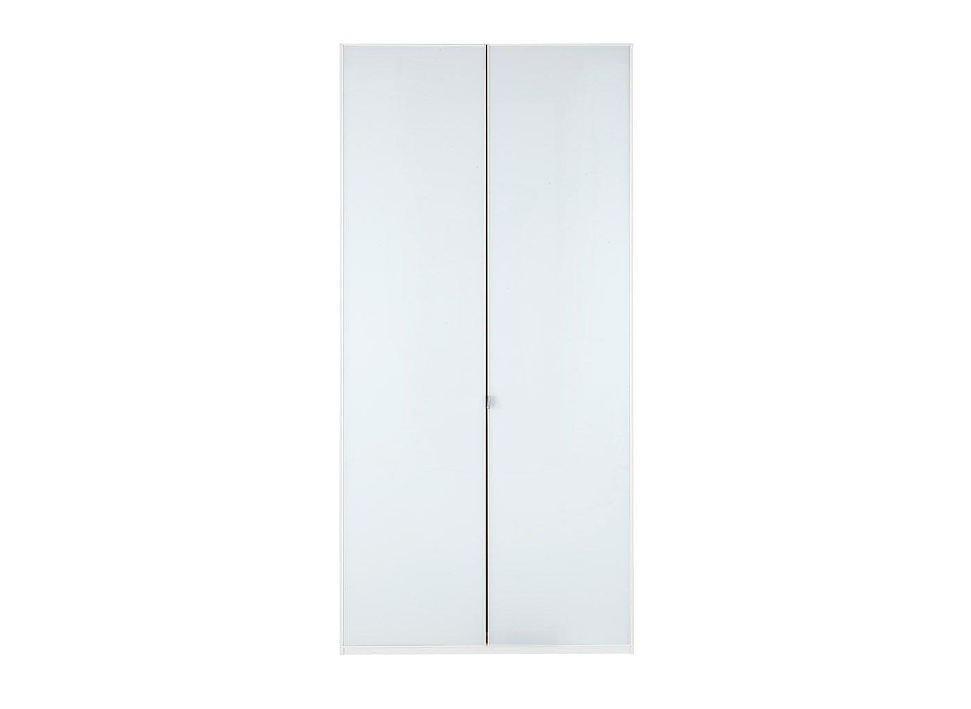 Memphis 2 Door Wardrobe - White
