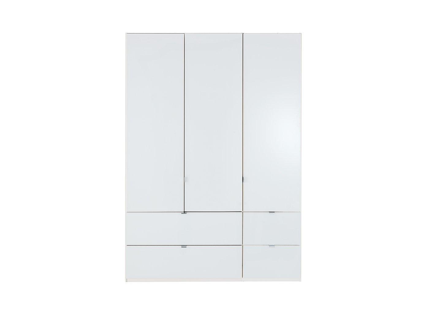Memphis 3 Door Combi Wardrobe – White (£1,199)