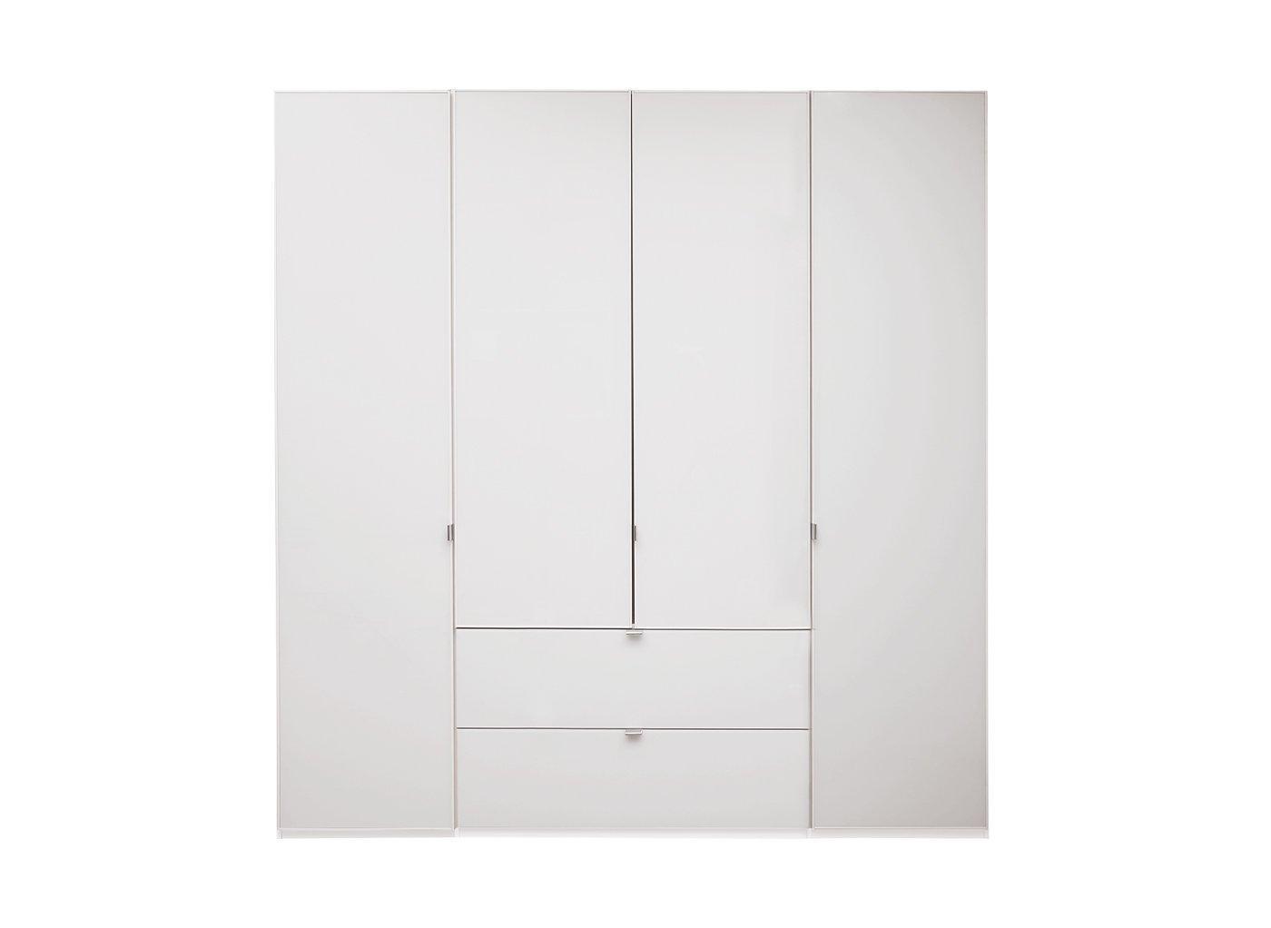 Memphis 4 Door Combi Wardrobe – White (£1,399)