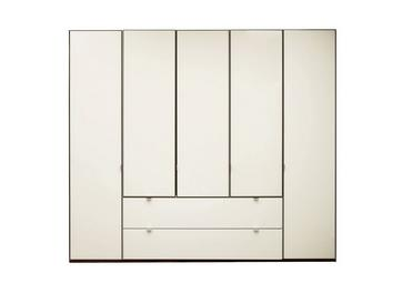 Memphis 5 Door Combi Wardrobe - Grey