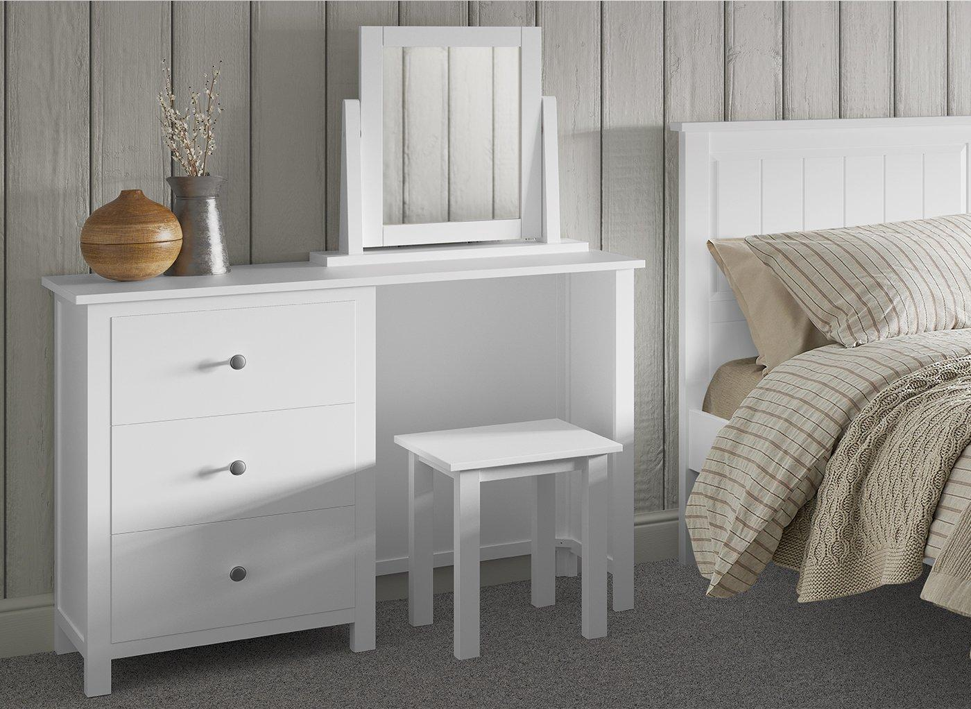 Woodbridge Dressing Table & Stool (£399)