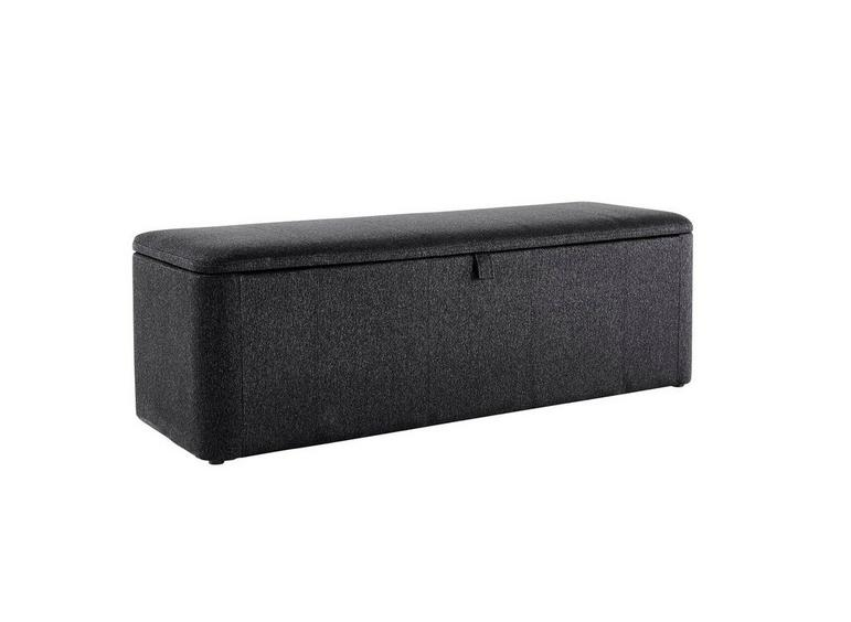 Luxury Storage Chest - Charcoal GREY