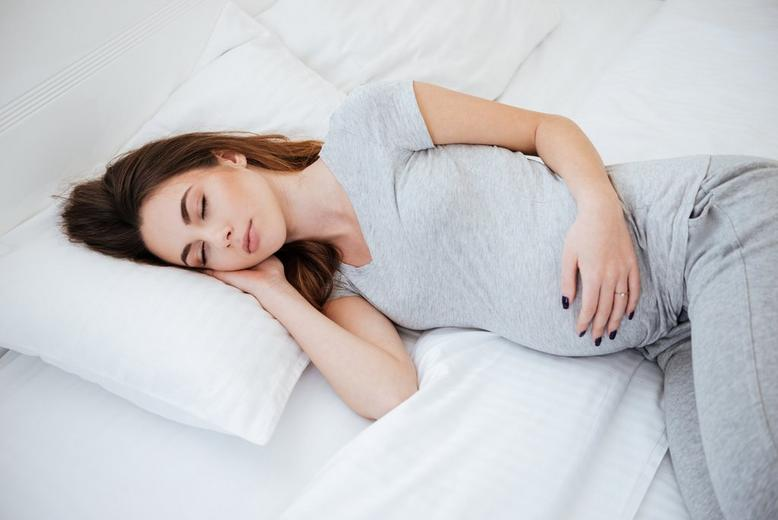 Image result for pregnant sleep