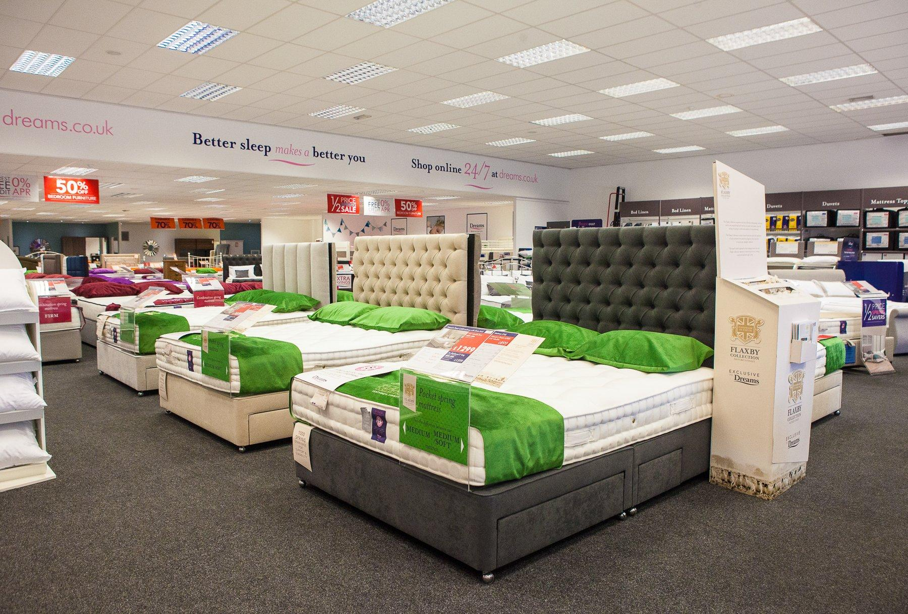 Dreams Store In Bradford Forster Square Retail Park Beds